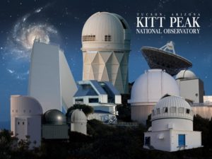 869b6f5b3cb83b The Kitt Peak National Observatory (KPNO), located 55 miles west of Tucson,  is the largest, most diverse gathering of astronomical instruments in the  world ...
