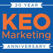 KEO Marketing achieves 20 year anniversary milestone
